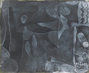 morgen grau [morning grey] by paul klee